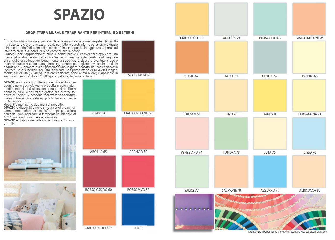 SPAZIO IDROPITTURA MURALE | Colorificio Astrale